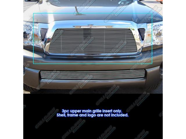 For 2011 Toyota Tacoma Main Upper Billet Grille Grill Insert #N19-A25968T