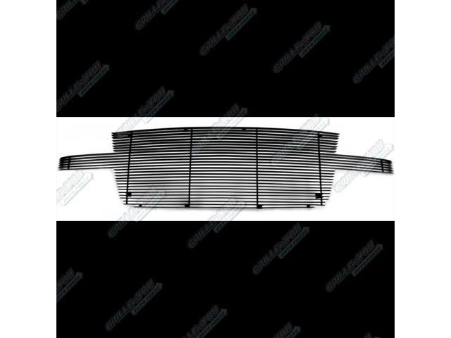 For 05-06 Chevy Silverado 2500/3500 Full Face Black Billet Grille Grill Insert #N19-H81868C