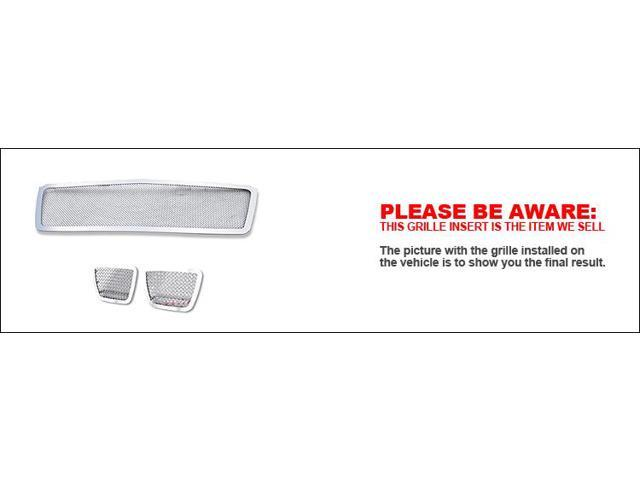 For 2007-2013 Chevy Tahoe/Suburban/Avalanche Mesh Grille  Insert Combo #N19-T94677C