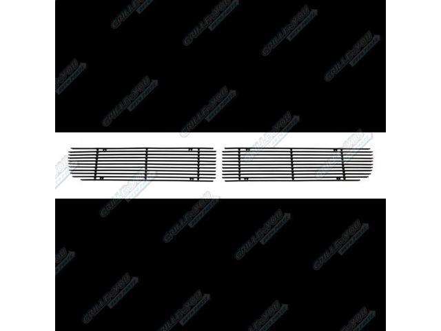 For 2004-2006 Dodge Ram SRT 10 Black Bumper Billet Grille Insert #N19-H75156D