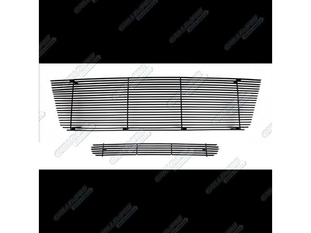 For 1992-2007 Ford Econoline Van Black Billet Grille Combo #N19-H11978F