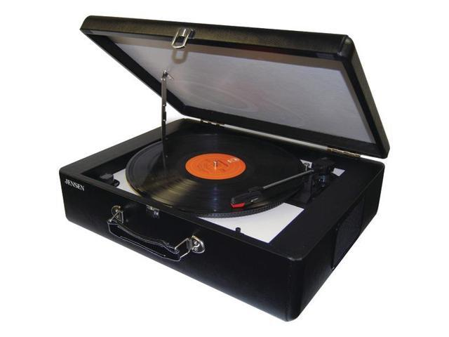 JENSEN  JTA-420 Portable Turntable with Built-In Speakers