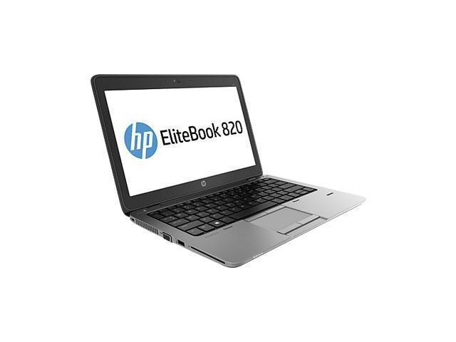 HP EliteBook 820 G2 (L3Z37UT#ABA) Laptop - Intel Core i5 5300U (2.30 GHz) 8 GB DDR3L 256 GB SSD Intel HD Graphics 5500 12.5