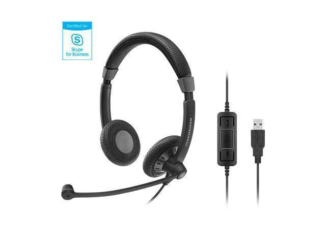 Dual Sided USB Ms Headset