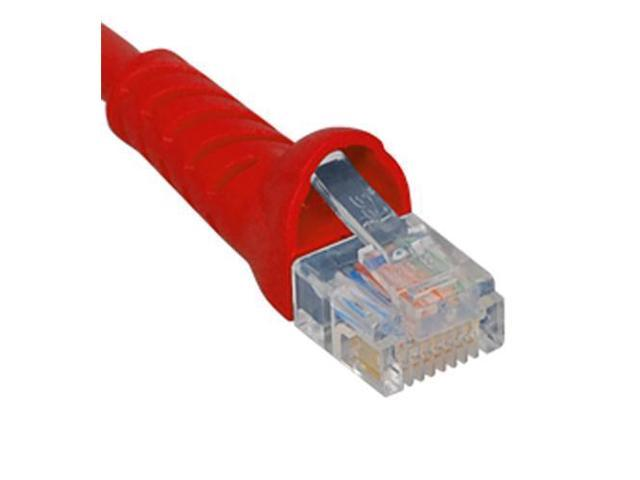 PATCH CORD, CAT 5e, MOLDED BOOT, 14' RD - ICC-ICPCSJ14RD