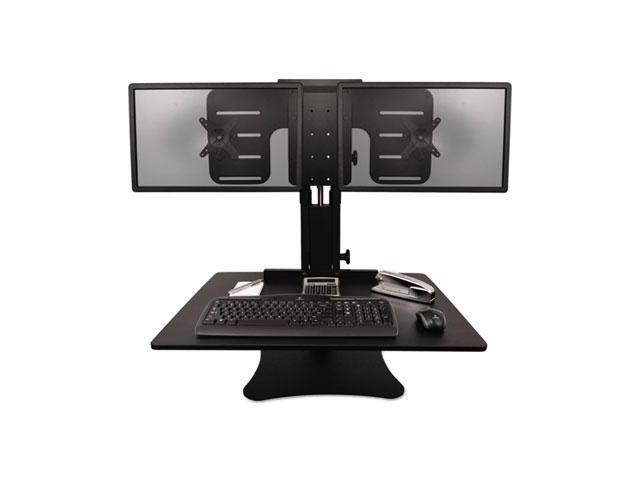 Victor Dc350 High Rise Collection Dual Monitor Sit Stand