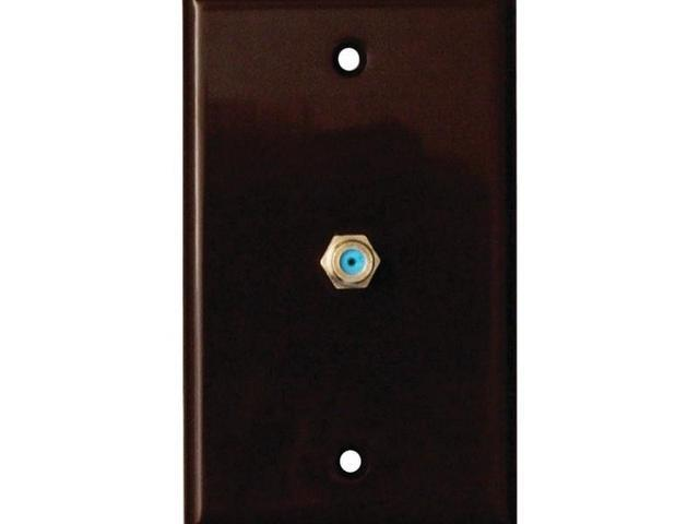 2.4GHz Coaxial Wall Plate (Brown) - 32-2024-BR