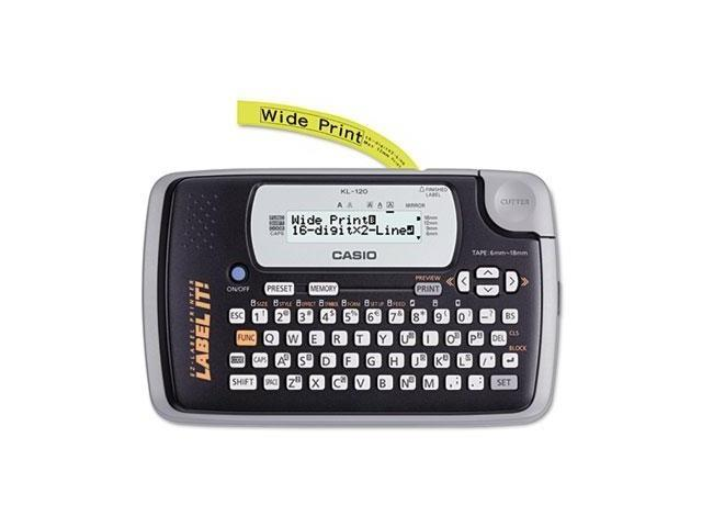 Casio KL120 Label Maker - CSOKL120L