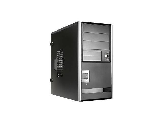 In-Win EA013.TH350S 350W TAC 2.0 ATX Mid Tower (Black/Silver)