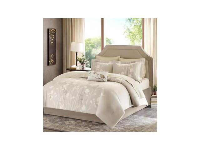 Madison Park Vaughn Complete Bed and Sheet Set - Cal. King