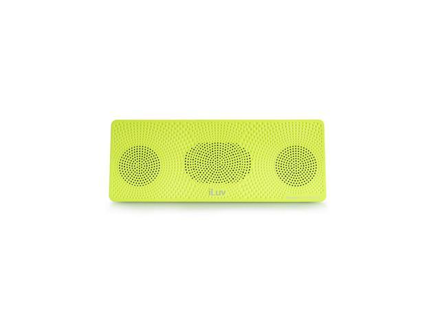 iLuv Portable Bluetooth Speaker - Neon Green