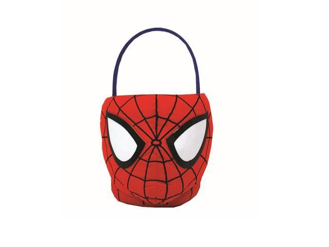 Boys Plush Easter Basket- Spider-Man