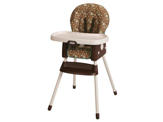graco simpleswitch high chair and booster seat little hoot newegg