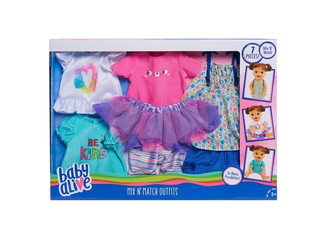 Baby Alive Mix N Match Fashion Outfit Set Newegg