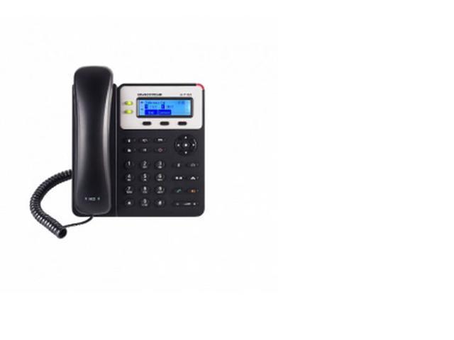 Grandstream GXP1625, 2 SIP acct., SMB IP Phone, 3-way, Multi-language, PoE