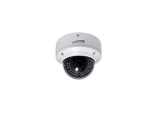 SPECO 2MP1080p Indoor/Outdoor Bullet Verifocal IP Camera, IR, 2.8-12mm lens, White, Part# O2VLD6