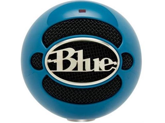 Blue Microphones Snowball Neon Blue USB Connector Microphone