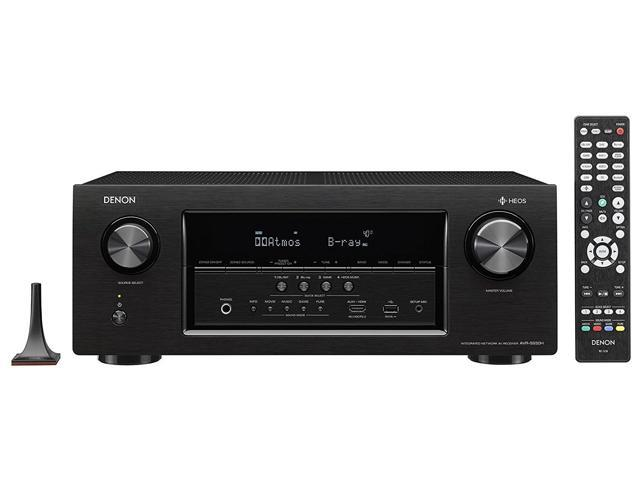Denon AVR-S930H 7.2 Channel Full 4K Ultra HD Network AV Receiver w/ HEOS