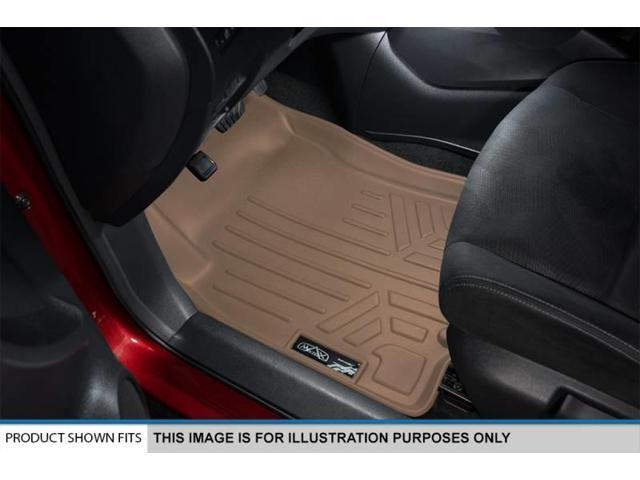 Maxliner 2016 Honda Pilot Floor Mats First 3 Row Set Tan A1200/B1200/C1200