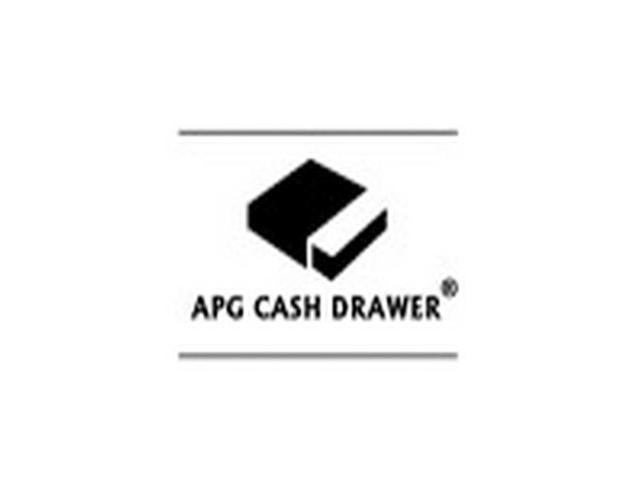 APG CASH DRAWERS JD554A-CW1816-C APG, S4000, HEAVY DUTY CASH DRAWER, USBPRO, WHITE, STAINLESS STEEL FRONT, 18X16, 2 MEDIA SLOTS, COIN ROLL STORAGE TILL, CABLE INCLUDED