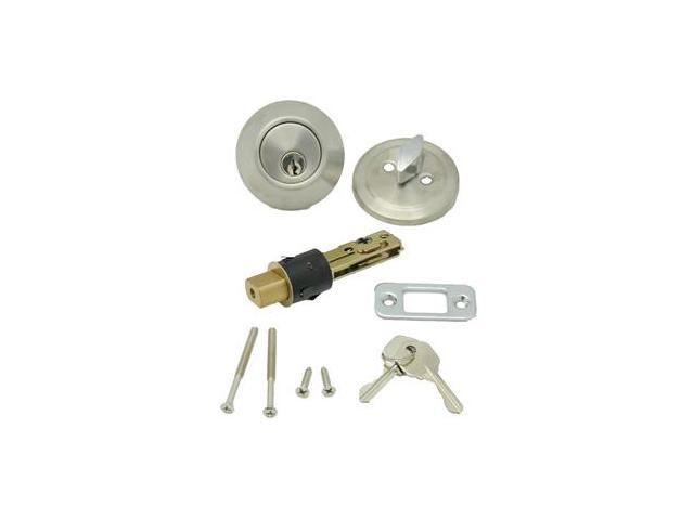 AP Products Single Dead Bolt - Stainless Steel 013-222-SS