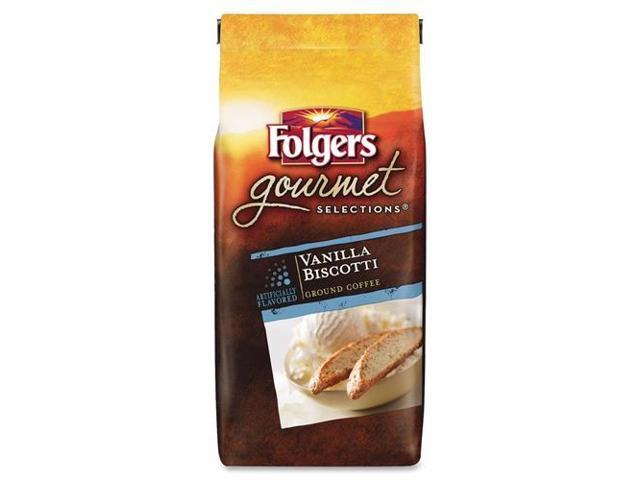 Folgers Vanilla Biscotti Gourmet Ground Coffee Ground - Vanilla Biscotti - 1 Each