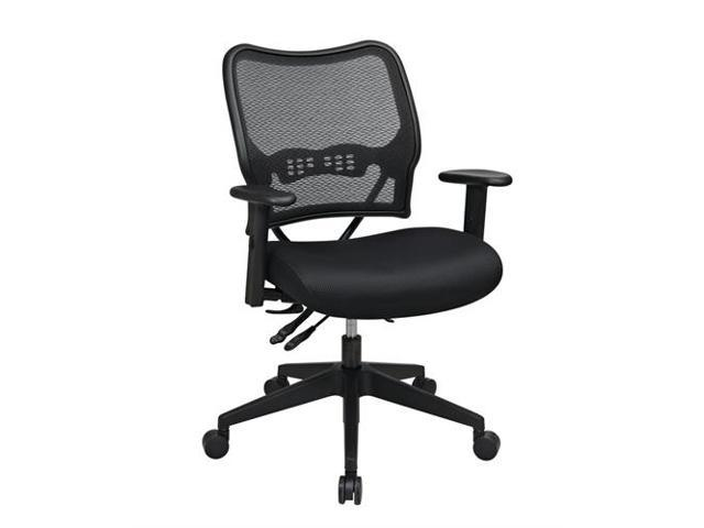 13-37N9WA Deluxe Chair with Mesh Seat, Seat Slider and 2 Way Adjustable Arms