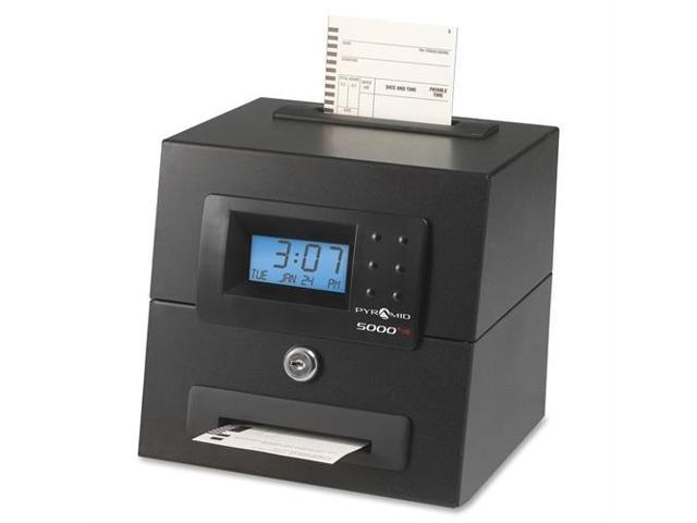 Pyramid Technologies 5000hd 5000+HD Heavy Duty Auto Totaling Time Clock