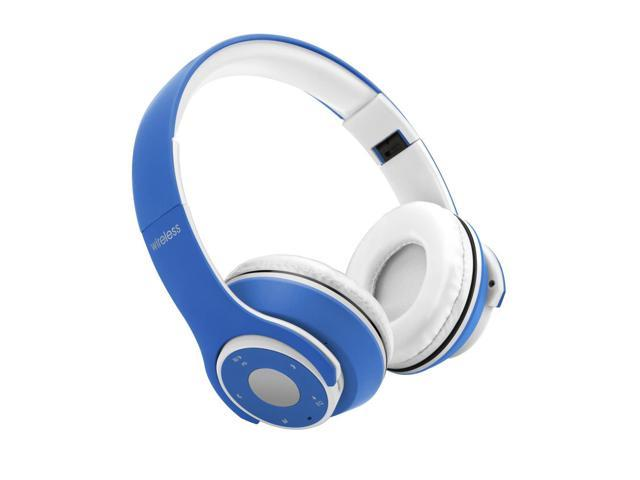 OY5 Wireless Bluetooth Headphone Foldable Over-ear Headsets 3.5mm Wired Earphone Support TF Card Music Play FM Radio Hands-free Calling for iPhone 7 6S Plus Samsung S6 Note 6 Laptop Notebook - Blue