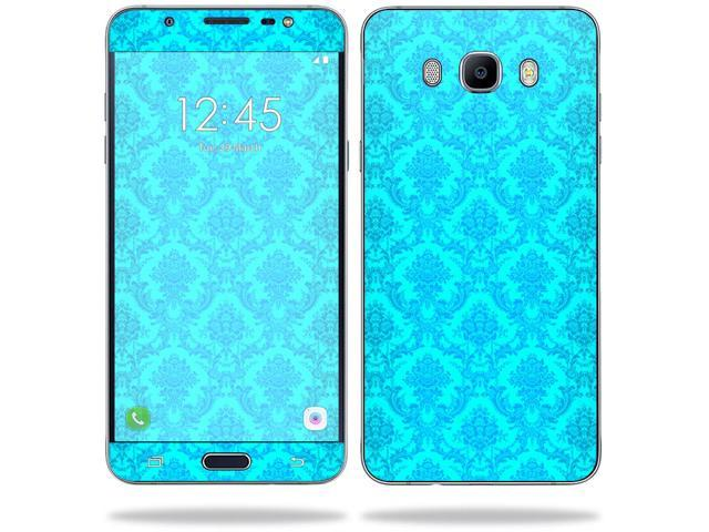 Skin Decal Wrap for Samsung Galaxy J7 (2016) sticker Blue Vintage