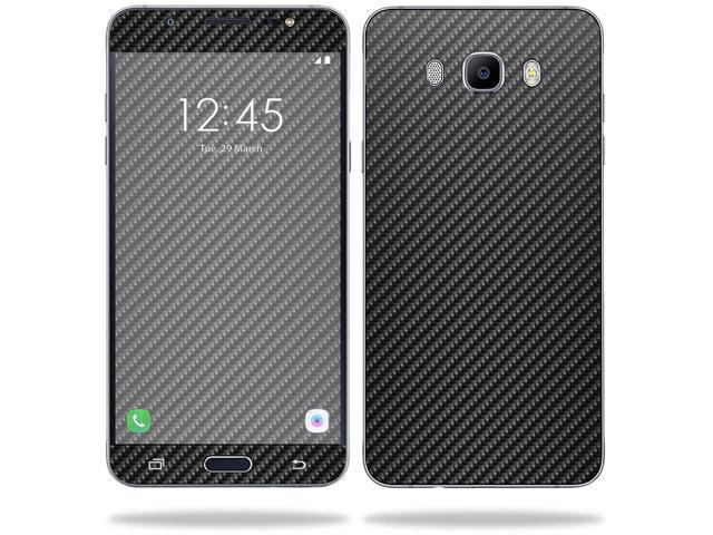 Skin Decal Wrap for Samsung Galaxy J7 (2016) sticker Carbon Fiber