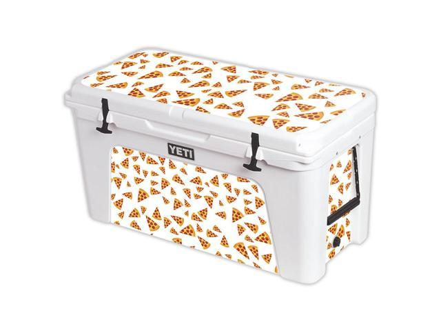 Skin Decal Wrap for YETI Tundra 125 qt Cooler cover sticker Body By Pizza