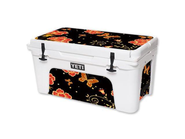 Skin Decal Wrap for YETI Tundra 65 qt Cooler cover sticker Flower Dream