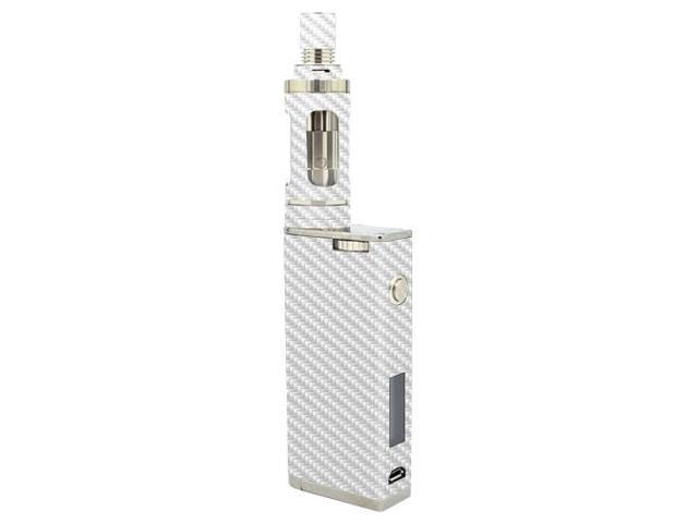 Skin Decal Wrap for Aspire Odyssey Kit skins sticker vape White Carbon Fiber