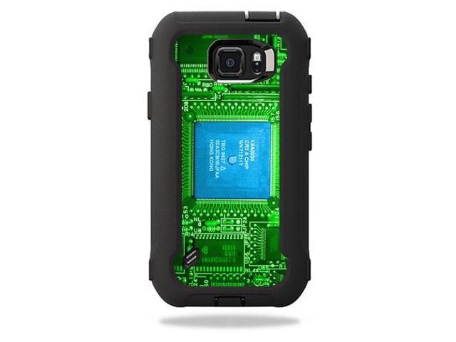 Skin Decal Wrap for OtterBox Defender Galaxy S6 Active Case Circuit Board