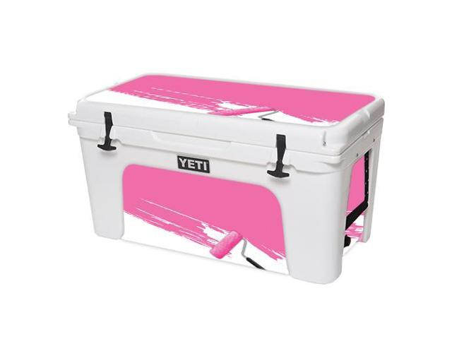Skin Decal Wrap for YETI Tundra 75 qt Cooler sticker cover Pink Paint Roller