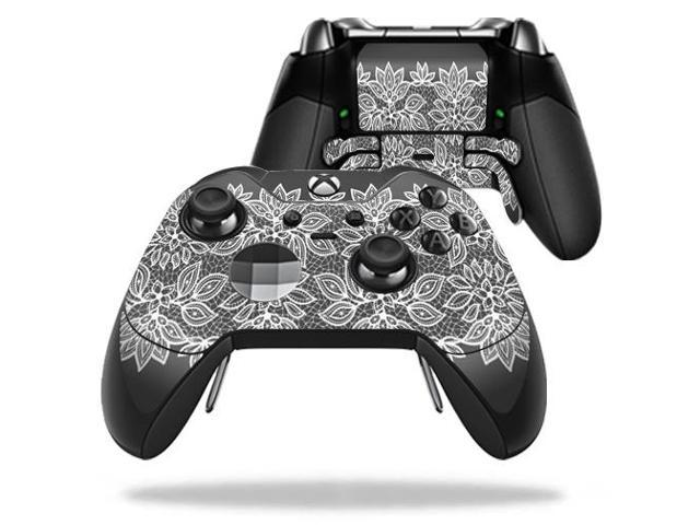 Skin Decal Wrap for Microsoft Xbox One Elite Controller Floral Lace
