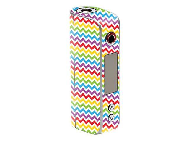 Skin Decal Wrap for Sigelei Spark 90W TC mod sticker vape Candy Chevron