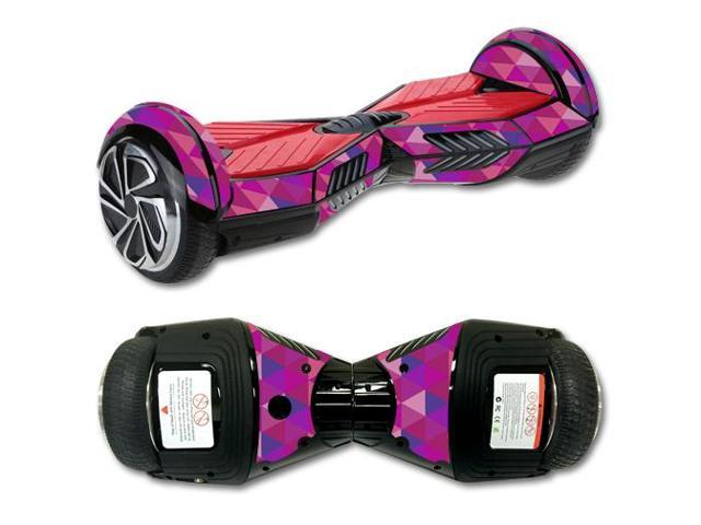 Skin Decal Wrap for Balance Board Scooter 2 Pink Kaleidoscope