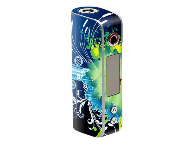 Skin Decal Wrap for Sigelei Spark 90W TC mod sticker vape Flower Explosion