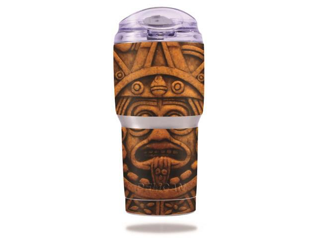 Skin Decal Wrap for Pelican Tumbler 22 oz cover sticker Carved Aztec