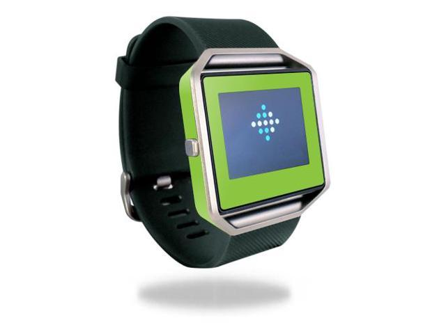 Skin Decal Wrap for Fitbit Blaze cover sticker skins Solid Lime Green