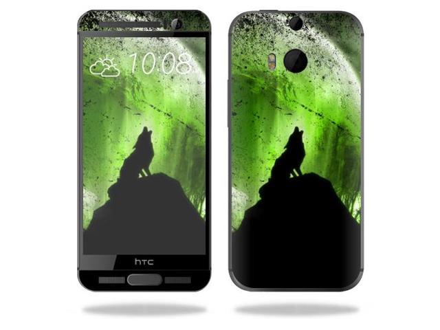 Skin Decal Wrap for HTC One M9 Plus cover sticker skins Howling Wolf