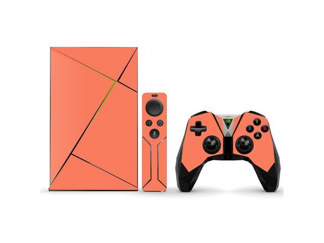 Skin Decal Wrap for NVIDIA Shield TV sticker Solid Salmon