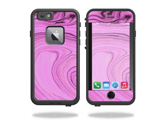 Skin Decal Wrap for Lifeproof Fre iPhone 6 Plus / 6S Plus Pink Thai Marble