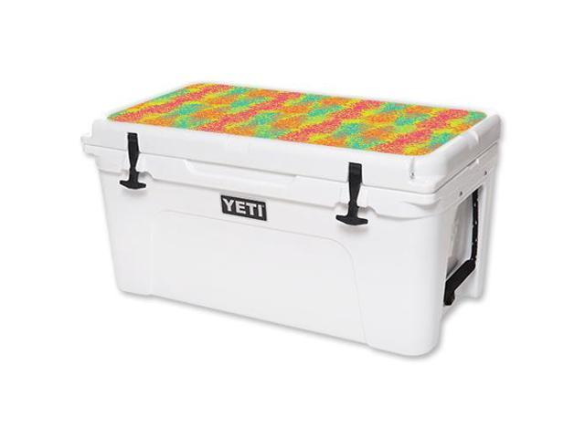 Skin Decal Wrap for YETI Tundra 65 qt Cooler Lid sticker Spring Pines