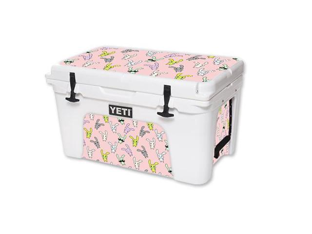 Skin Decal Wrap for YETI Tundra 45 qt Cooler Bunny Bunches