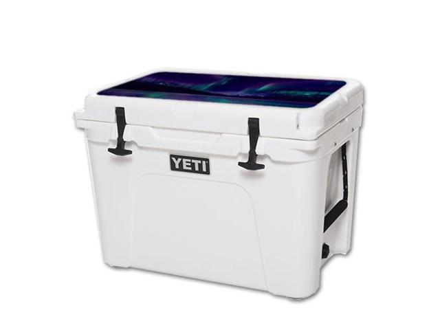 Skin Decal Wrap for YETI Tundra 50 qt Cooler Lid sticker Aurora Borealis