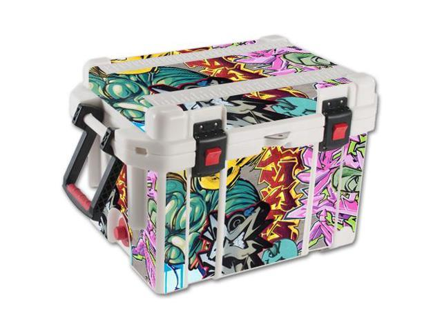 Skin Decal Wrap for Pelican 45 qt Cooler sticker cover Graffiti Wild Styles
