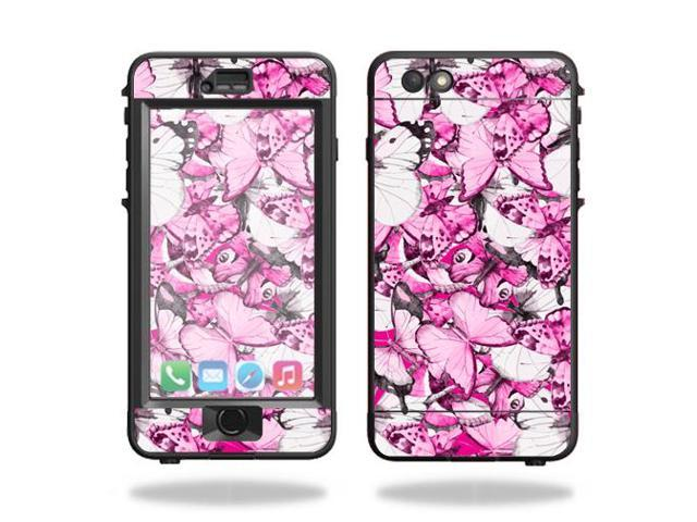 Skin Decal Wrap for Lifeproof Nuud iPhone 6s Plus Case Butterfly Love